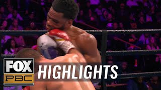 Download Lamont Peterson retires in the ring after loss to Sergey Lipinets | HIGHLIGHTS | PBC ON FOX Video