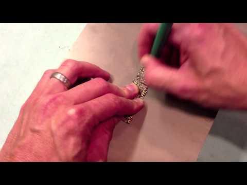 PCB Solder Mask Removal: Fiberglass Scratch Brush 2
