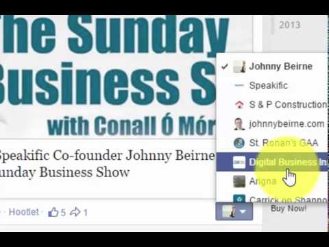 How to comment and like other Facebook Business Pages Posts as your Facebook Business Page