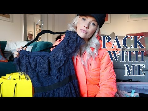 WHAT'S IN MY SUITCASE FOR ICELAND   Pack with me!   VLOG 73