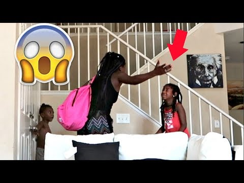 I'M LEAVING / HOME ALONE PRANK ON MY KIDS (THEY GO CRAZY!!!)   LACY'S FILES