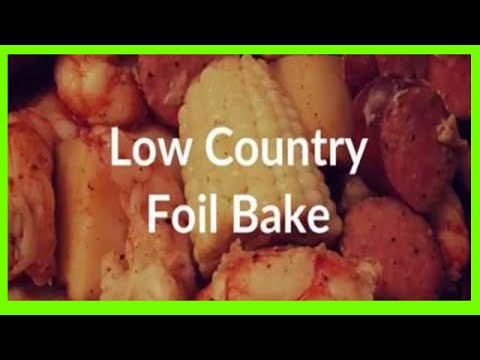Low Country Foil Bake (Shrimp, Andouille, Corn and Potatoes = YUM)