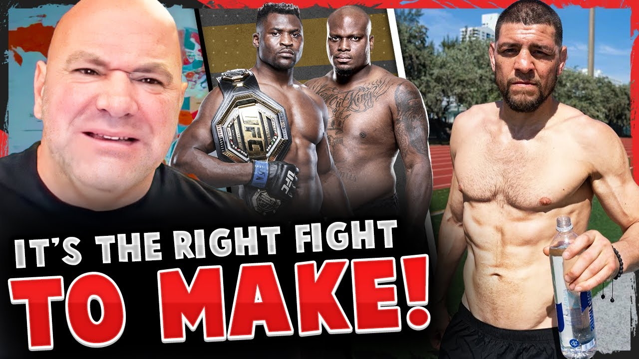 Dana White REVEALS Ngannou vs Lewis in the works & GOES OFF on Jake Paul, Nick Diaz RIPPED