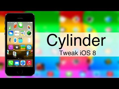 Cylinder    iOS 8.4    Efectos de animación en las apps al cambiar de página    Tweak de Cydia