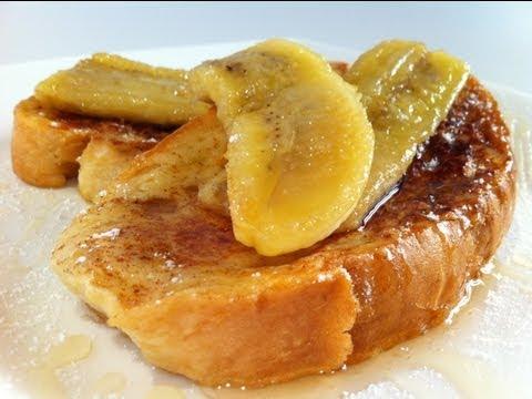 FRENCH TOAST: Cinnamon & Banana
