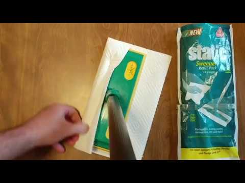 HOW TO USE PAPER TOWELS ON A SWIFFER FOR CLEANING YOUR FLOOR