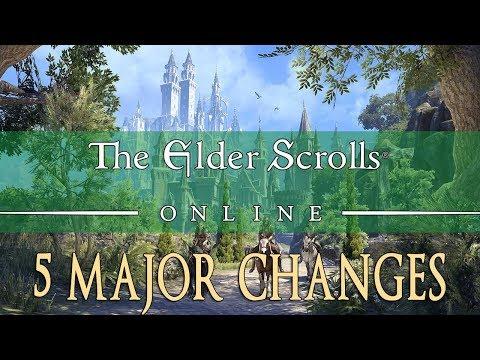 Elder Scrolls Online Summerset: 5 Major Changes