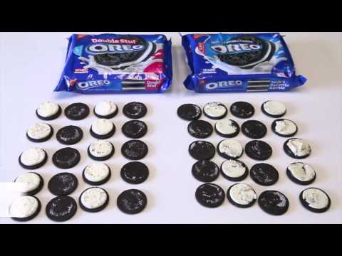 Proof That 'Double Stuff' Oreos Aren't Actually Double-Stuffed