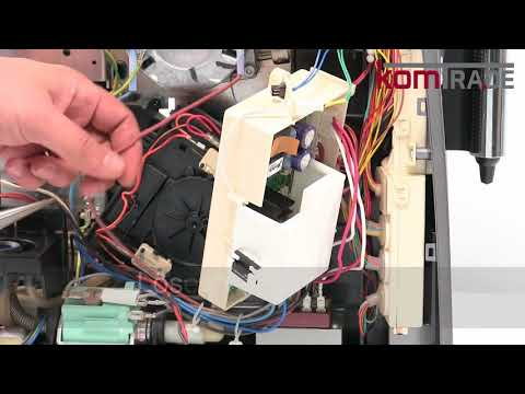 Miele CM5xxx (bis CM5200) Antrieb ausbauen-ersetzen-tauschen-einbauen Reparaturanleitung