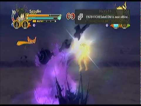 Ultimate Ninja Storm 3: EMS Sasuke vs. Team 7