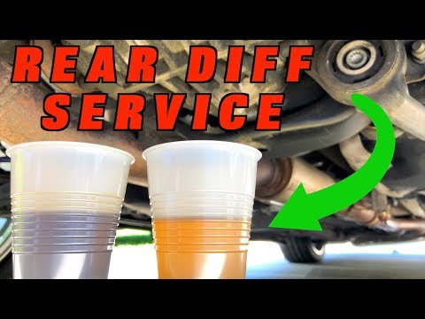 How To Change Rear Differential Fluid
