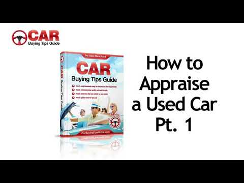 How to appraise a used car Pt1