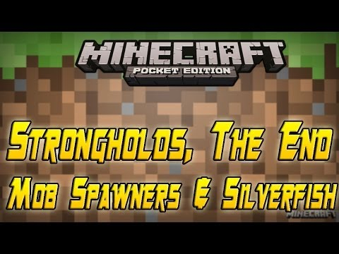 Minecraft PE: News - STRONGHOLDS, THE END, SILVERFISH & MOB SPAWNERS [0.9.0]