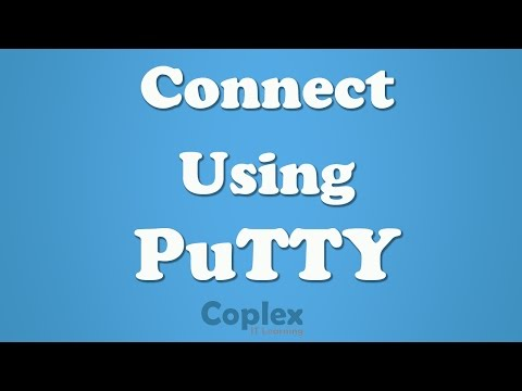 How to Use PuTTY to Connect to Cisco Device