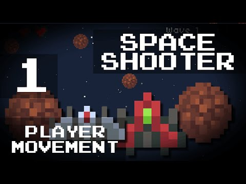 [Game Maker] Easy Space Shooter  - 1: Player Movement