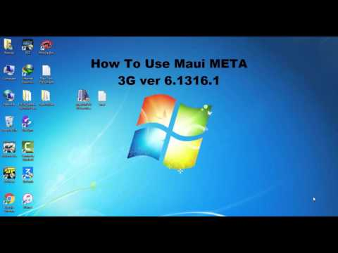 How To Use Maui META 3G | All Mtk Imei Writing Tool - PakVim