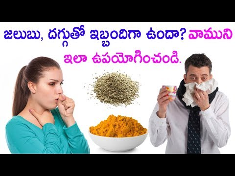 Best Home Remedies for common Cold and Cough | Health tips in Telugu