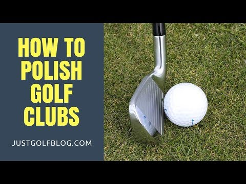 How to Polish Golf clubs at Home | Best Way Clean Polish Golf Clubs