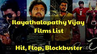 Vijay Box Office Hit, Flop, Blockbuster Movies | All Vijay Films List