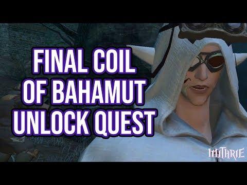 FFXIV 2.45 0454 Final Coil of Bahamut Unlock Quest