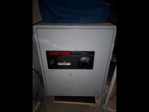 How to easily open your Fire fyter safe