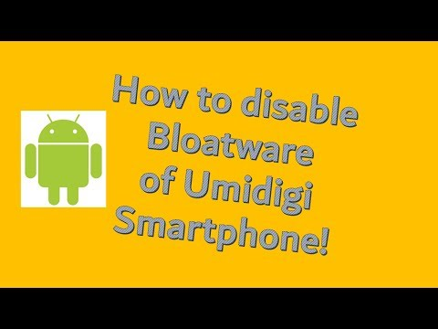 How disable news page on Umidigi smartphone
