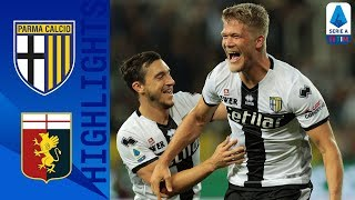 Parma 5-1 Genoa   Cornelius nets a Hat-trick as Parma Thump Genoa   Serie A