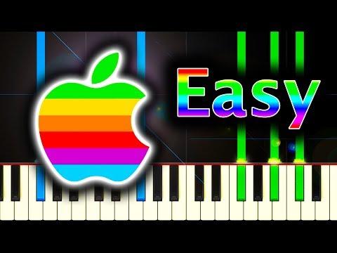 MAC STARTUP SOUND - Piano Tutorial