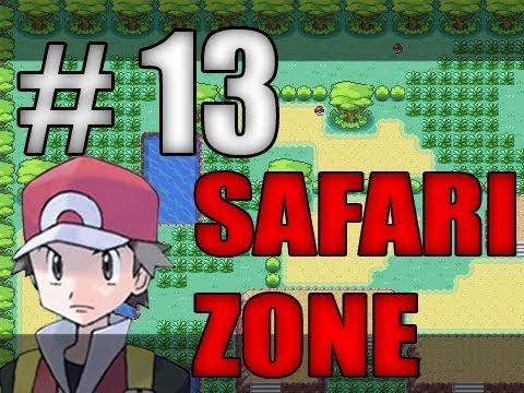 Pokémon Fire Red - Safari Zone