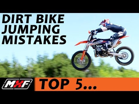 Top 5 Jumping Mistakes on a Dirt Bike - Most Common Problems & Solutions!!