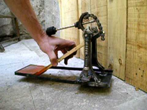 homemade drum pedal -Arg-