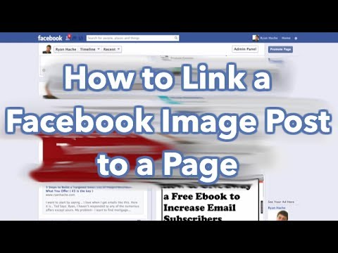 How to Link a Facebook Image Post to a Website