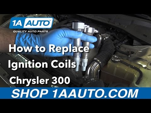 How to Replace Install Ignition Coils 2006 Chrysler 300 Buy Quality Auto Parts at 1AAuto.com