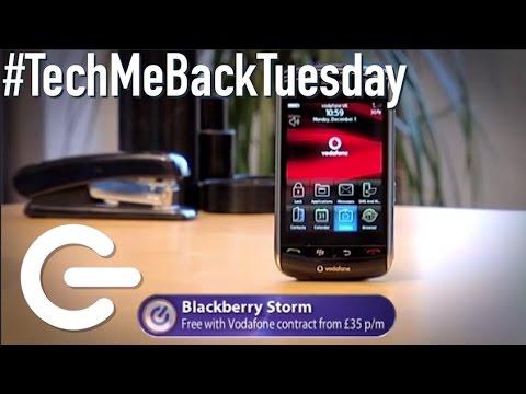 Blackberry Storm - The Gadget Show #TechMeBackTuesday