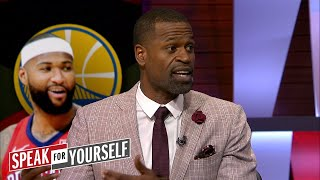 Stephen Jackson on Cousins to Golden State and Lakers free agency options   NBA   SPEAK FOR YOURSELF