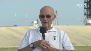 Download Apollo 11 Astronaut Michael Collins Talks Launch on 50th Anniversary Video