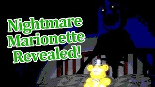 Nightmare Springtrap Revealed? Five nights Freddy's 4 Halloween ...