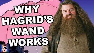 Harry Potter Theory: The History Of Hagrid's Wand