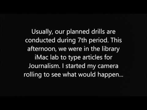Fire Drill at School - 4/20/2017