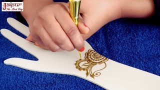 Mehndi Design For Hands : Beautiful Arabic Mehndi Design For Girls by Sonia Goyal #224
