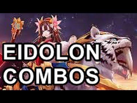 Aura Kingdom - ALL 60 Eidolon Combos!
