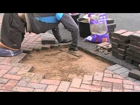 Fixing a low spot - bed preparation