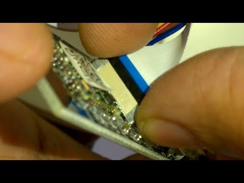 Ribbon Cable - Vertical mount  - How to remove