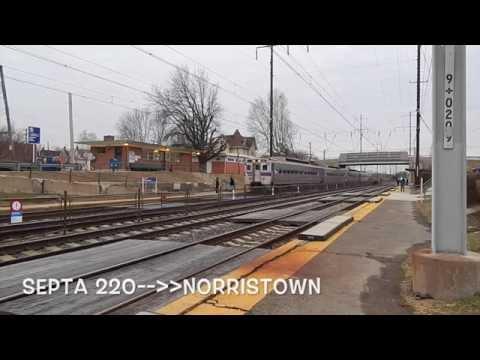 NEC Series: Norwood Amtrak/Septa Action