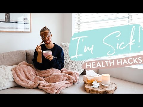 SICK DAY in the life | My Sick Remedies to GET BETTER FAST! Food, Secrets + Face Masks