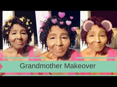 Look 10 years younger | Giving my Grandmother a Makeover | Candy WorldTV