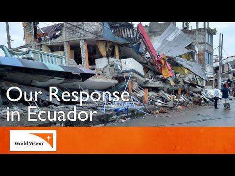Ecuador Earthquake Response   World Vision