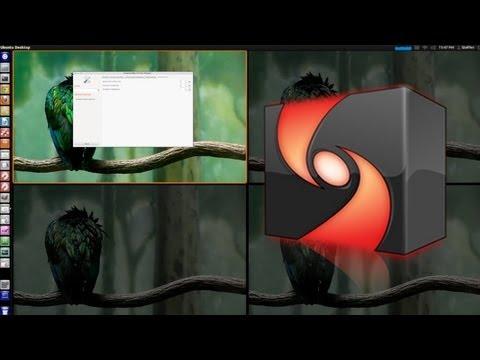 Shift Between Workspaces - Ubuntu 12.04