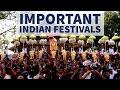 Important Festivals of India - Static GK