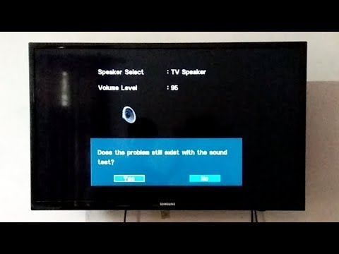 How to Perform Sound Test on Samsung LED TV